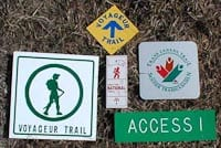 Trial Signs- Voyageur Trails Northern Ontario
