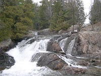 Falls near Elliot Lake